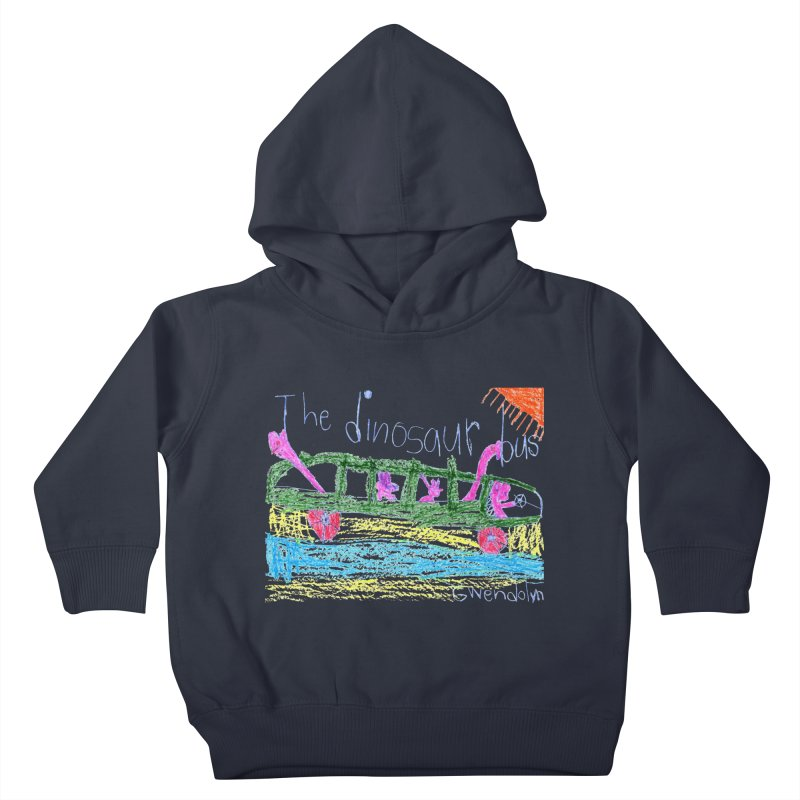 The Dinosaur Bus Kids Toddler Pullover Hoody by The Life of Curiosity Store