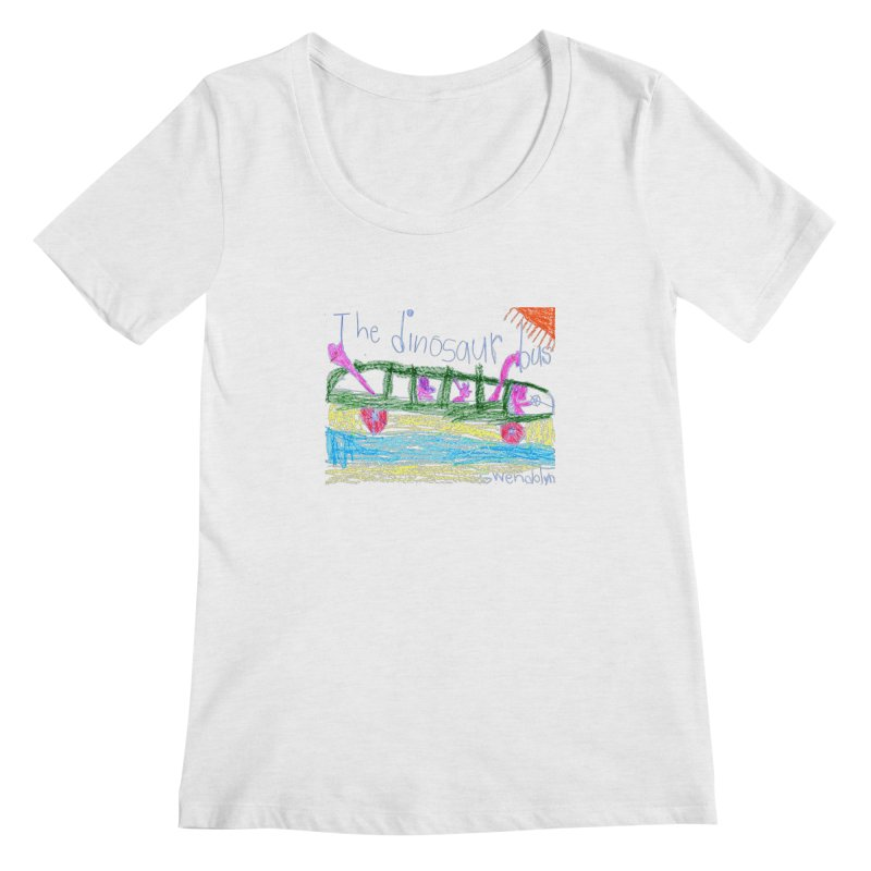 The Dinosaur Bus Women's Regular Scoop Neck by The Life of Curiosity Store