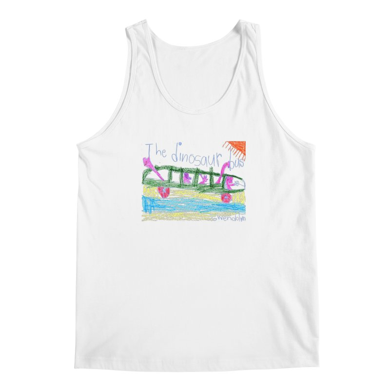 The Dinosaur Bus Men's Regular Tank by The Life of Curiosity Store