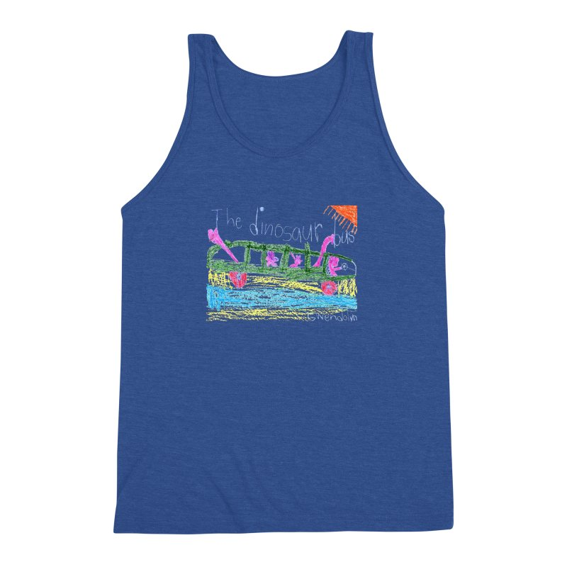 The Dinosaur Bus Men's Triblend Tank by The Life of Curiosity Store