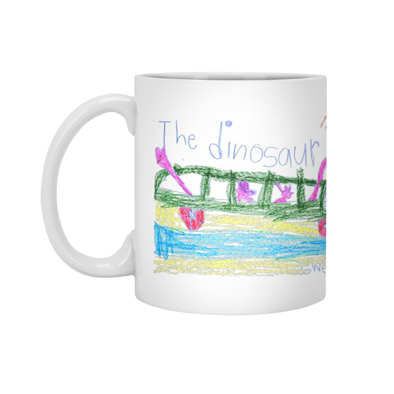 The Dinosaur Bus Accessories Mug by The Life of Curiosity Store