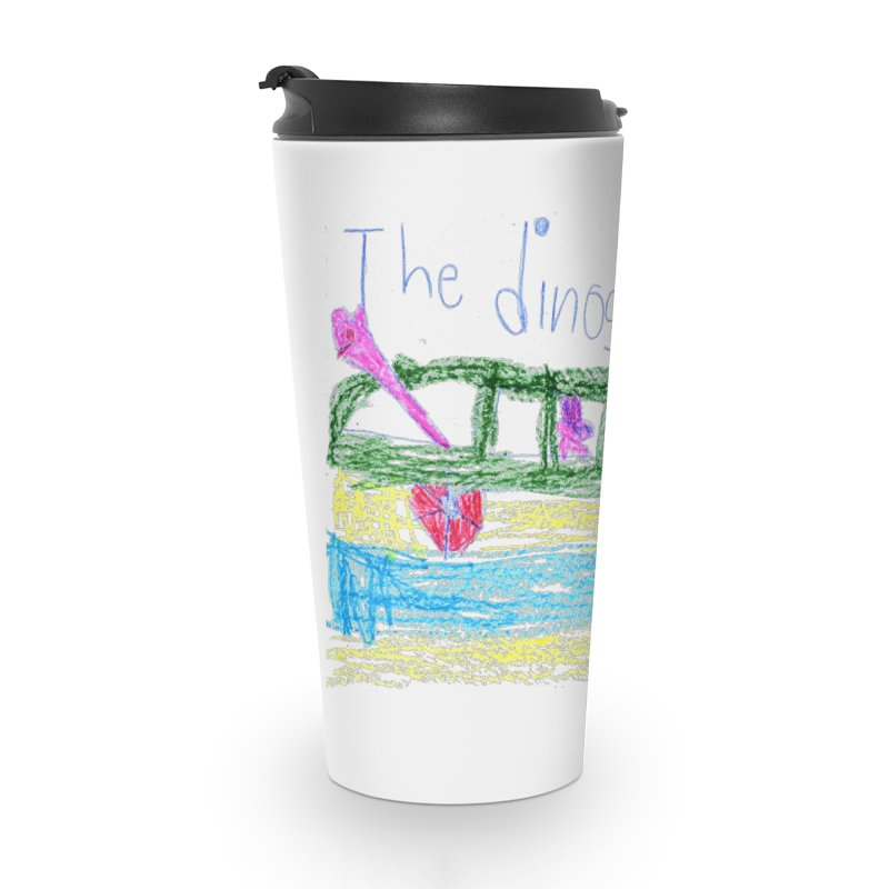 The Dinosaur Bus Accessories Travel Mug by The Life of Curiosity Store