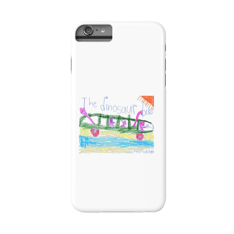 The Dinosaur Bus Accessories Phone Case by The Life of Curiosity Store