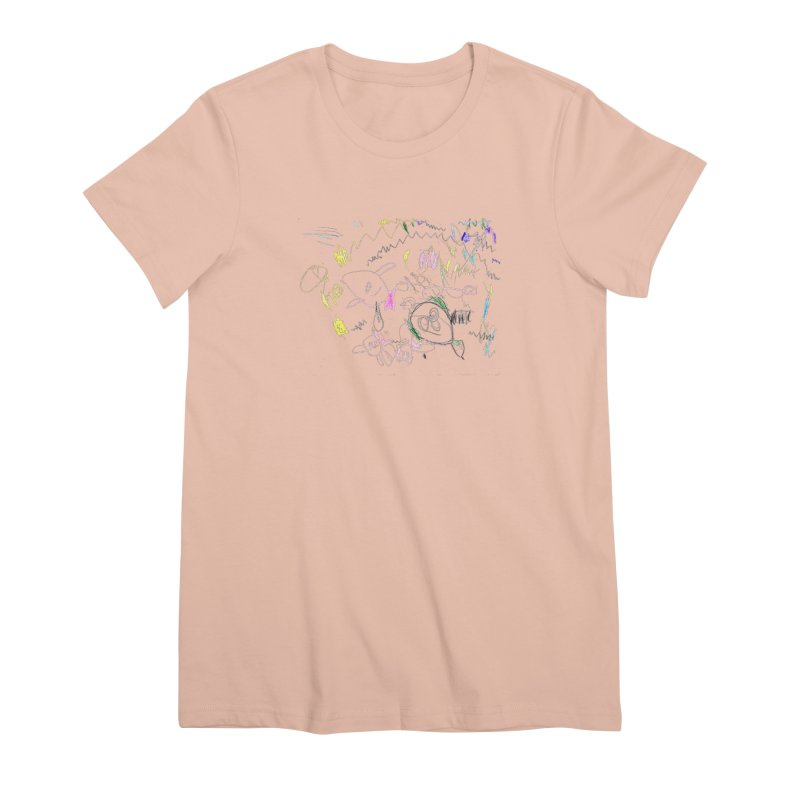 Ellowyn's Family Portrait Women's Premium T-Shirt by The Life of Curiosity Store