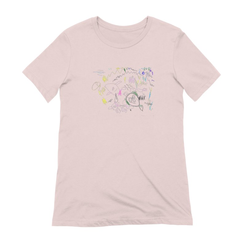 Ellowyn's Family Portrait Women's Extra Soft T-Shirt by The Life of Curiosity Store
