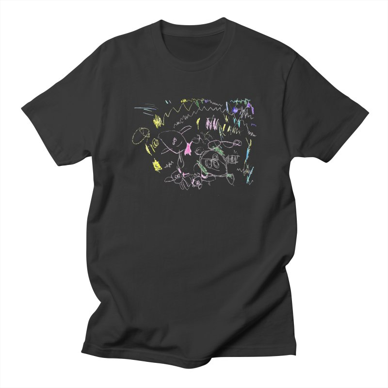Ellowyn's Family Portrait Men's T-Shirt by The Life of Curiosity Store