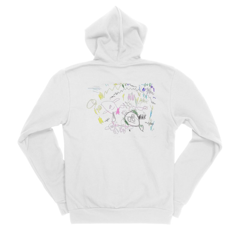 Ellowyn's Family Portrait Men's Zip-Up Hoody by The Life of Curiosity Store