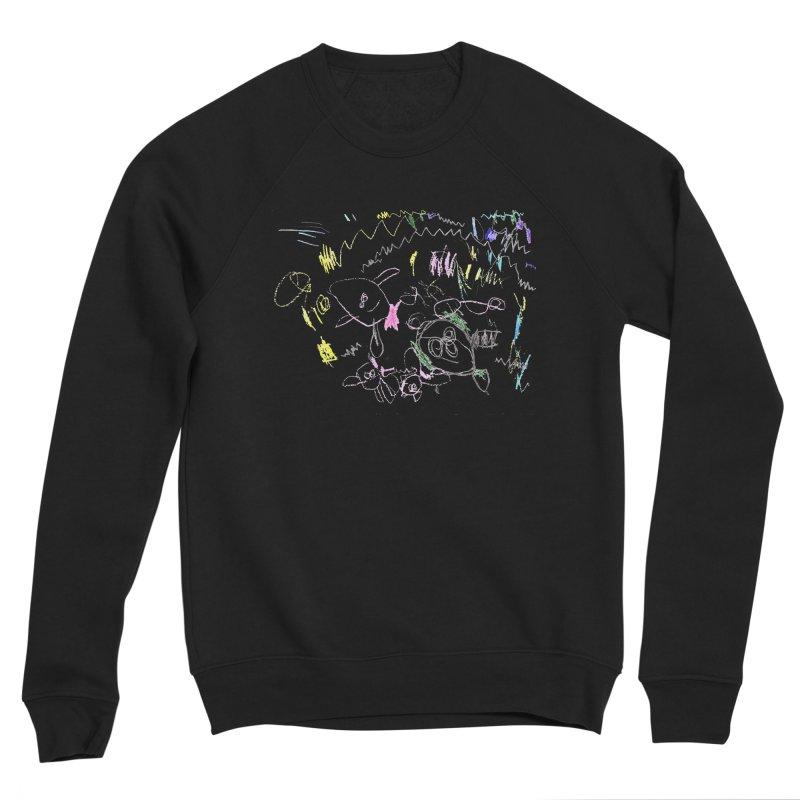 Ellowyn's Family Portrait Men's Sponge Fleece Sweatshirt by The Life of Curiosity Store