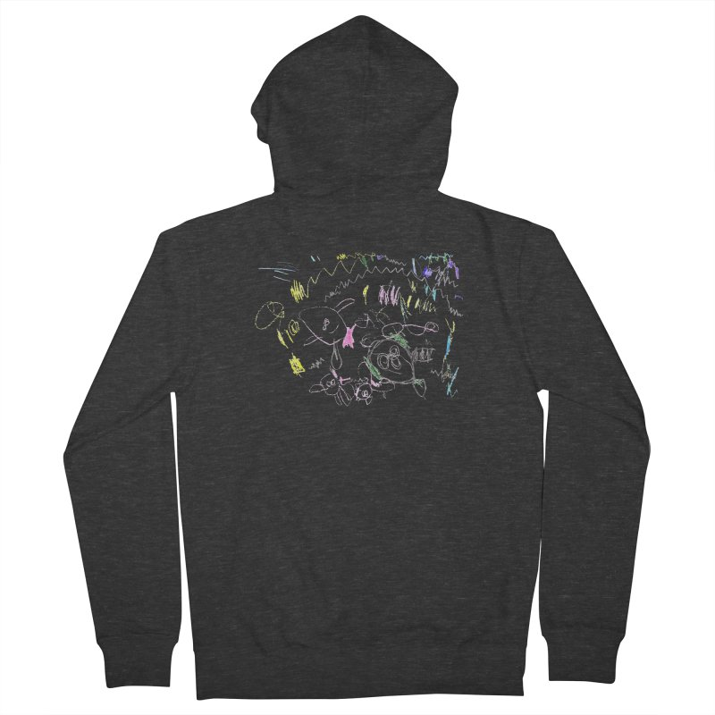 Ellowyn's Family Portrait Women's French Terry Zip-Up Hoody by The Life of Curiosity Store