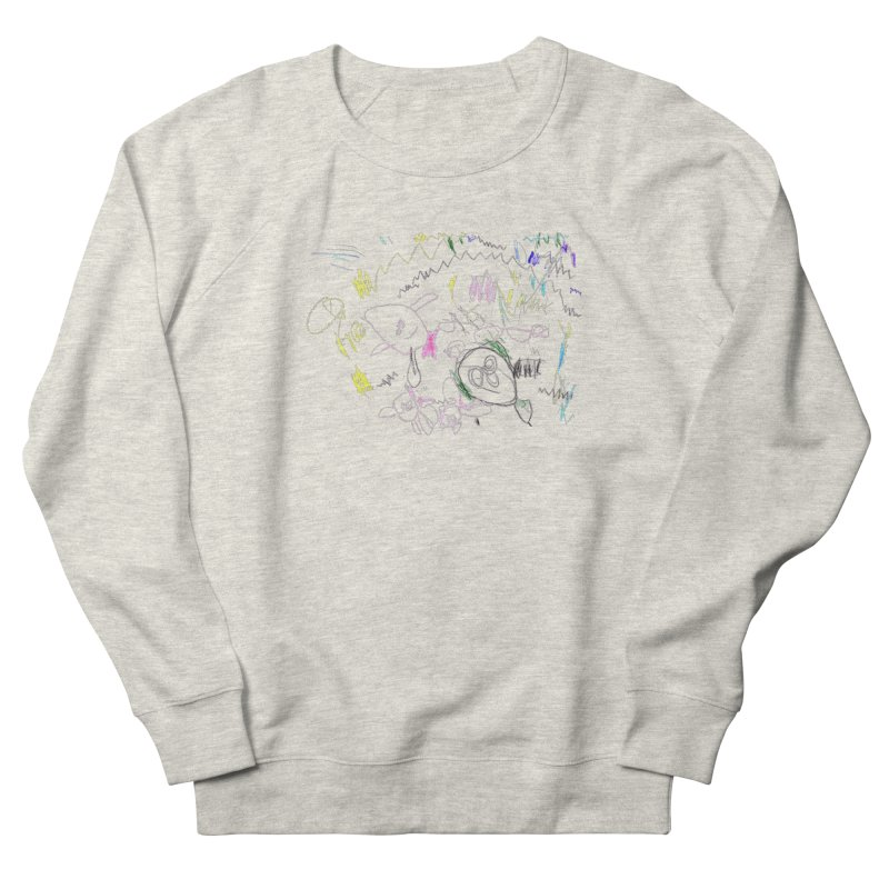 Ellowyn's Family Portrait Women's French Terry Sweatshirt by The Life of Curiosity Store