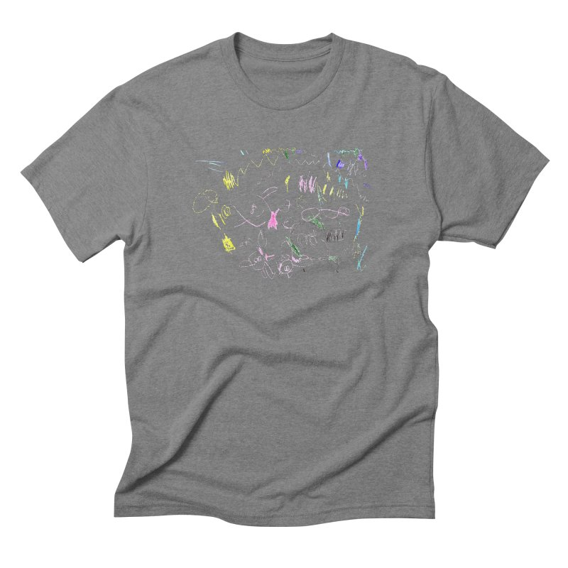 Ellowyn's Family Portrait Men's Triblend T-Shirt by The Life of Curiosity Store