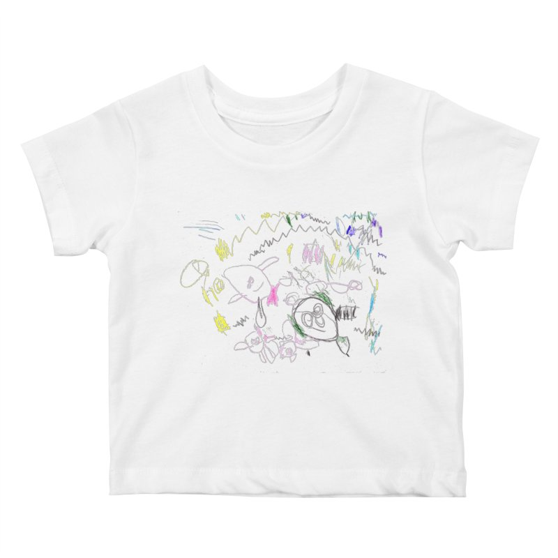 Ellowyn's Family Portrait Kids Baby T-Shirt by The Life of Curiosity Store