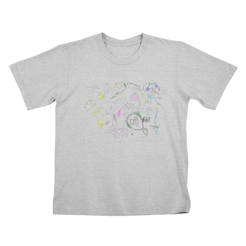 Ellowyn's Family Portrait Kids T-Shirt by The Life of Curiosity Store