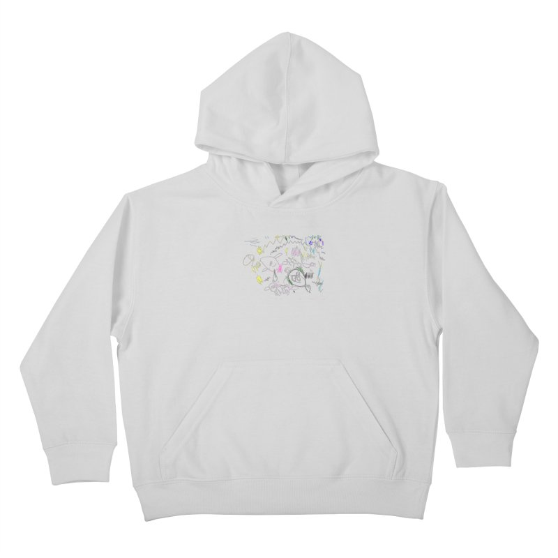 Ellowyn's Family Portrait Kids Pullover Hoody by The Life of Curiosity Store