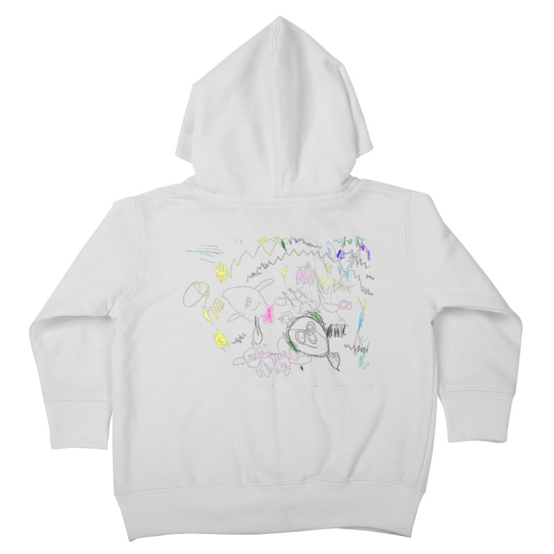 Ellowyn's Family Portrait Kids Toddler Zip-Up Hoody by The Life of Curiosity Store