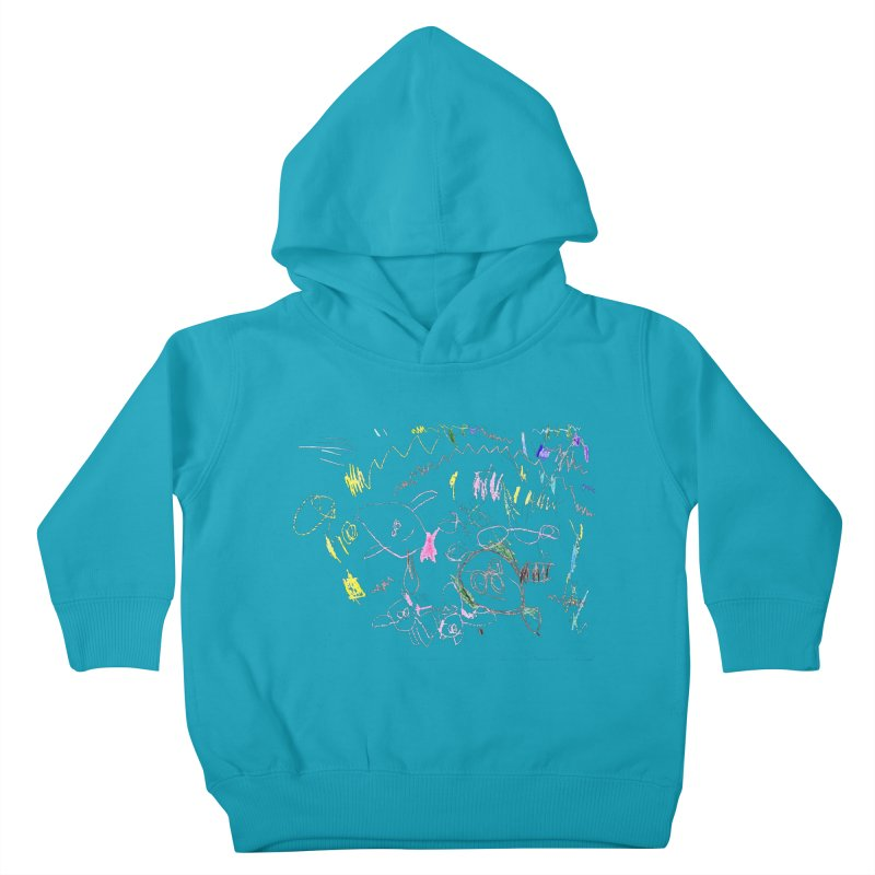 Ellowyn's Family Portrait Kids Toddler Pullover Hoody by The Life of Curiosity Store