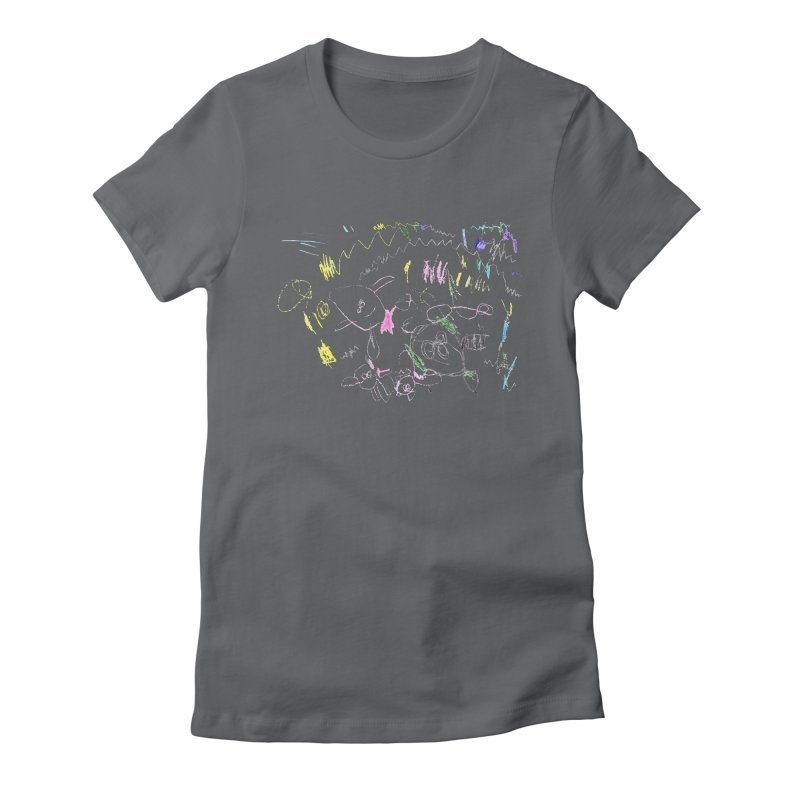 Ellowyn's Family Portrait Women's T-Shirt by The Life of Curiosity Store