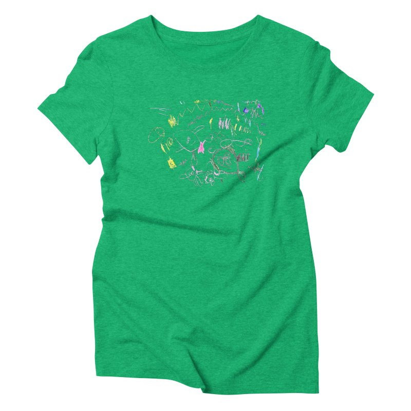 Ellowyn's Family Portrait Women's Triblend T-Shirt by The Life of Curiosity Store