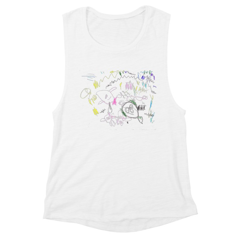 Ellowyn's Family Portrait Women's Muscle Tank by The Life of Curiosity Store