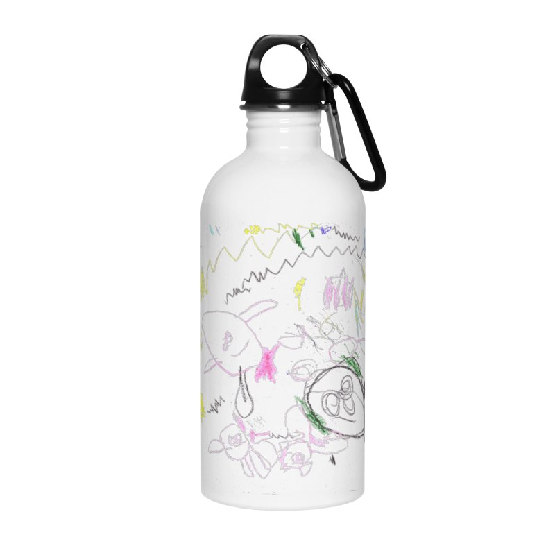 Ellowyn's Family Portrait Accessories Water Bottle by The Life of Curiosity Store