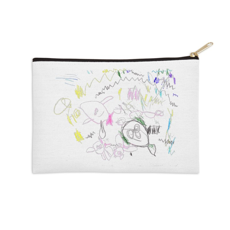 Ellowyn's Family Portrait Accessories Zip Pouch by The Life of Curiosity Store
