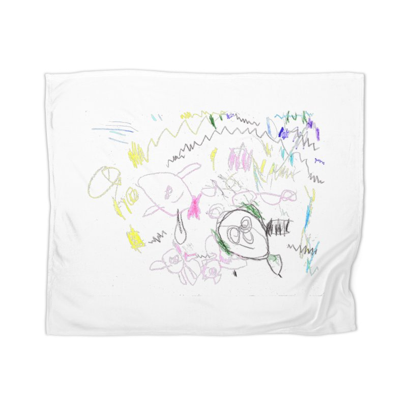 Ellowyn's Family Portrait Home Blanket by The Life of Curiosity Store