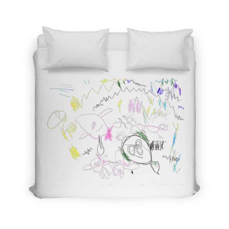 Ellowyn's Family Portrait Home Duvet by The Life of Curiosity Store