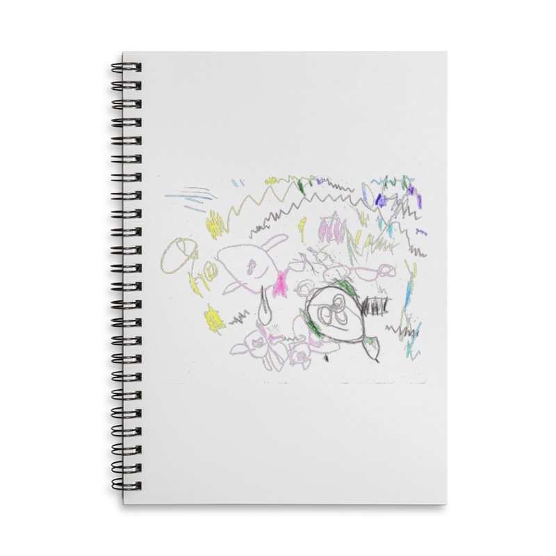 Ellowyn's Family Portrait Accessories Lined Spiral Notebook by The Life of Curiosity Store