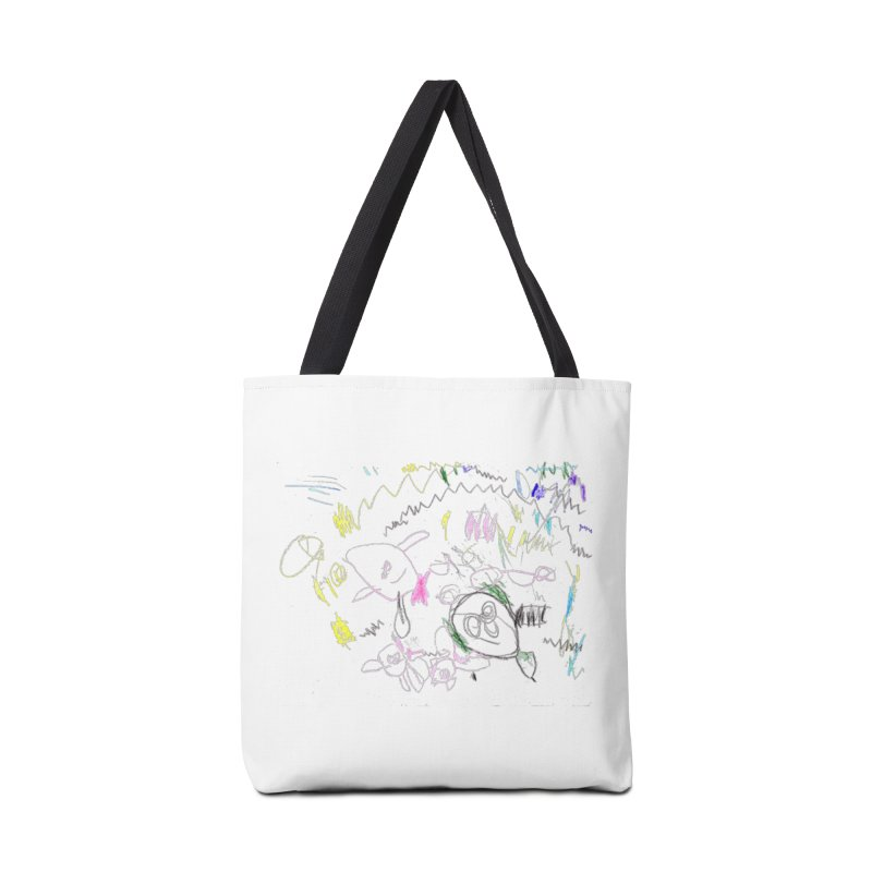 Ellowyn's Family Portrait Accessories Tote Bag Bag by The Life of Curiosity Store