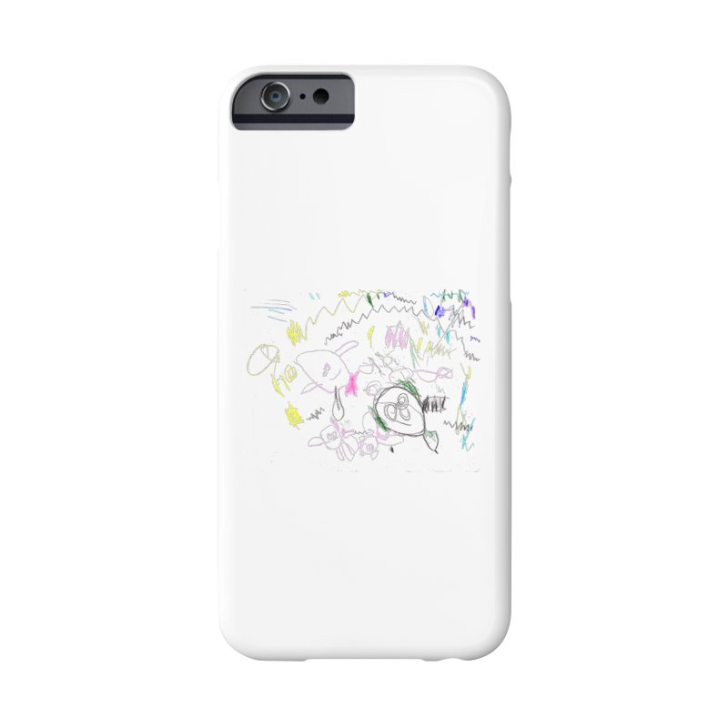 Ellowyn's Family Portrait Accessories Phone Case by The Life of Curiosity Store