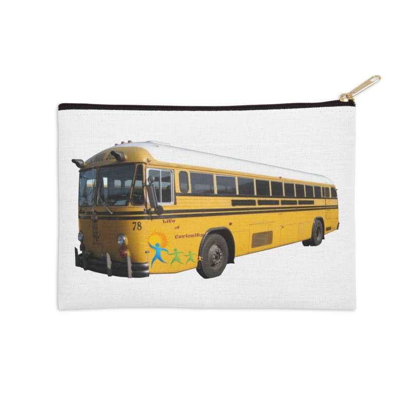 Leia Bus Accessories Zip Pouch by The Life of Curiosity Store