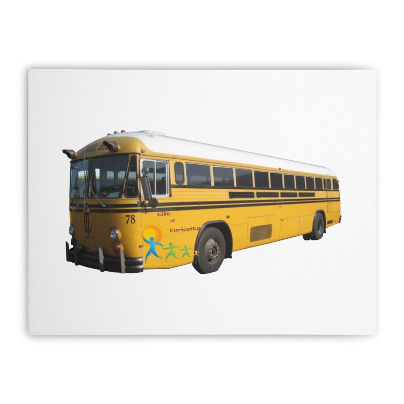 Leia Bus Home Stretched Canvas by The Life of Curiosity Store