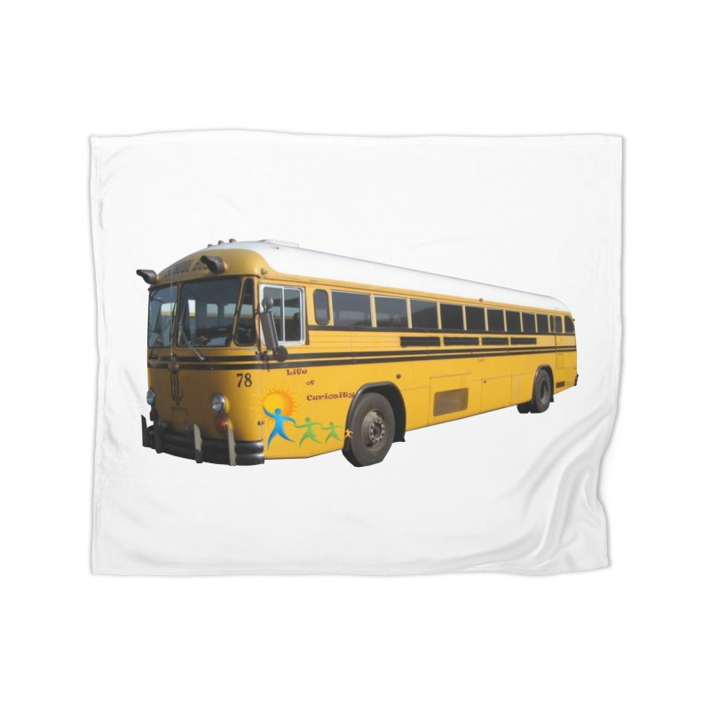 Leia Bus Home Fleece Blanket Blanket by The Life of Curiosity Store