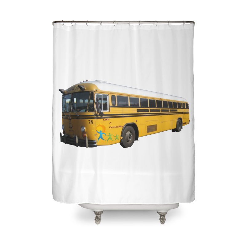 Leia Bus Home Shower Curtain by The Life of Curiosity Store