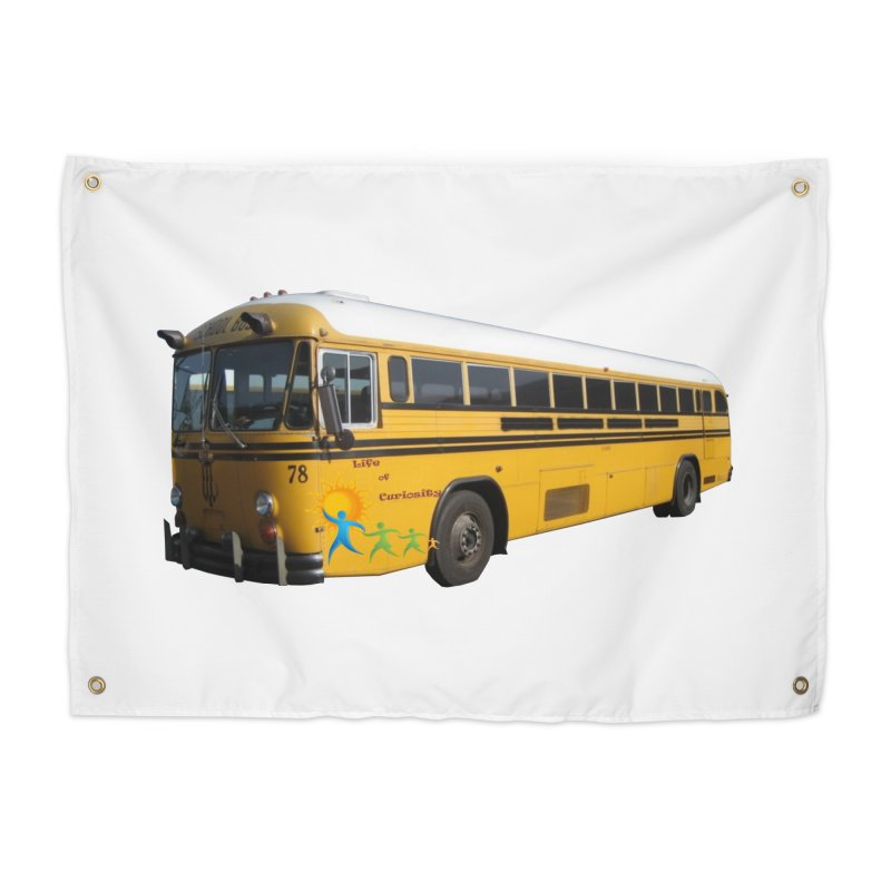 Leia Bus Home Tapestry by The Life of Curiosity Store