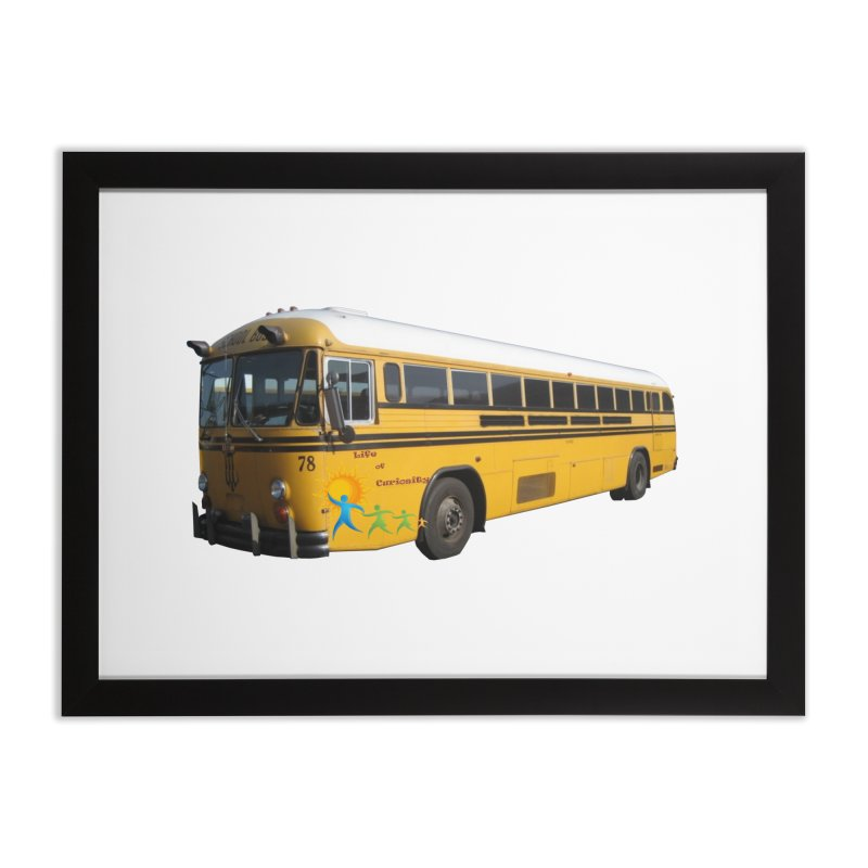 Leia Bus Home Framed Fine Art Print by The Life of Curiosity Store