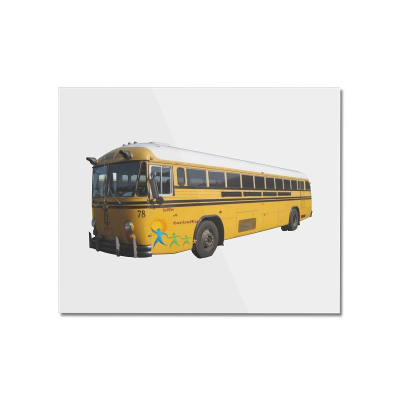 Leia Bus Home Mounted Acrylic Print by The Life of Curiosity Store