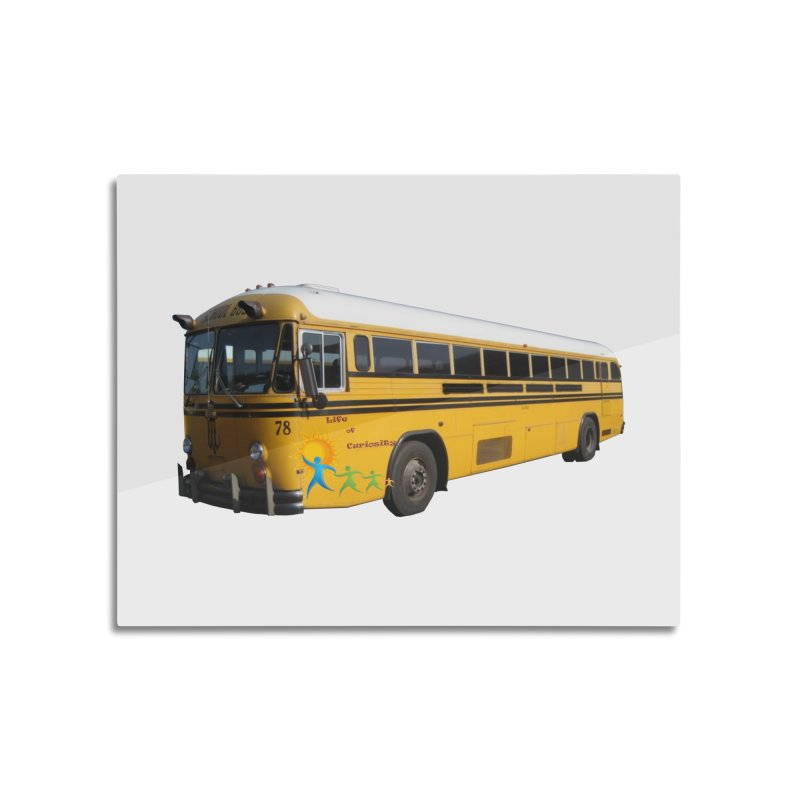Leia Bus Home Mounted Aluminum Print by The Life of Curiosity Store