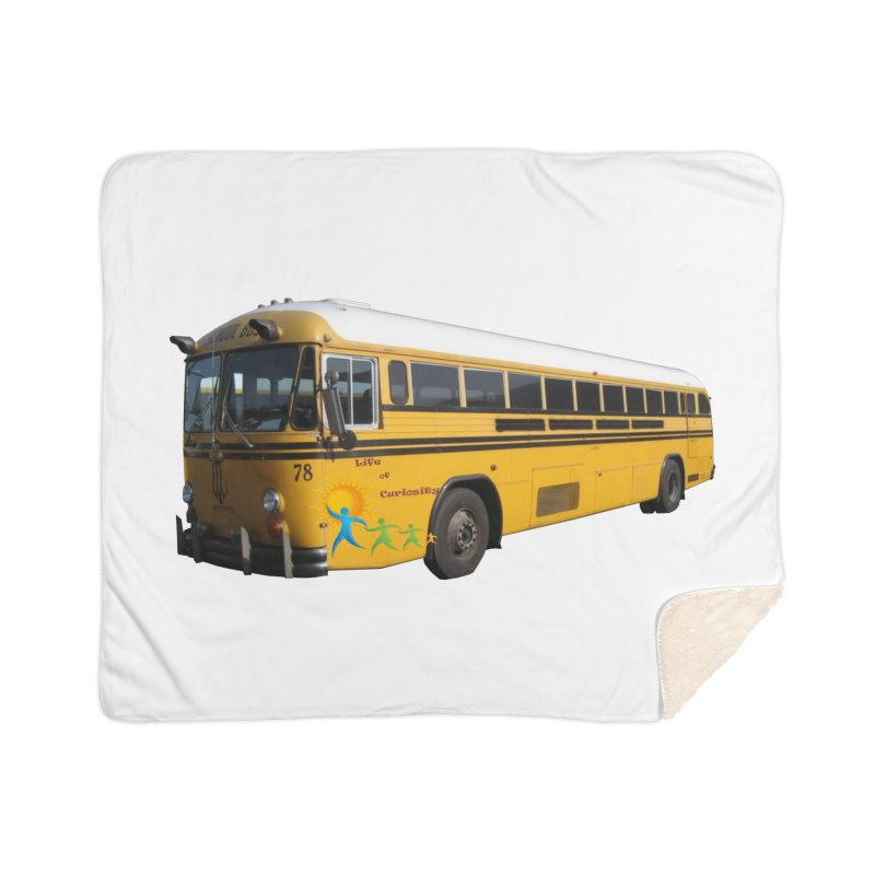 Leia Bus Home Sherpa Blanket Blanket by The Life of Curiosity Store
