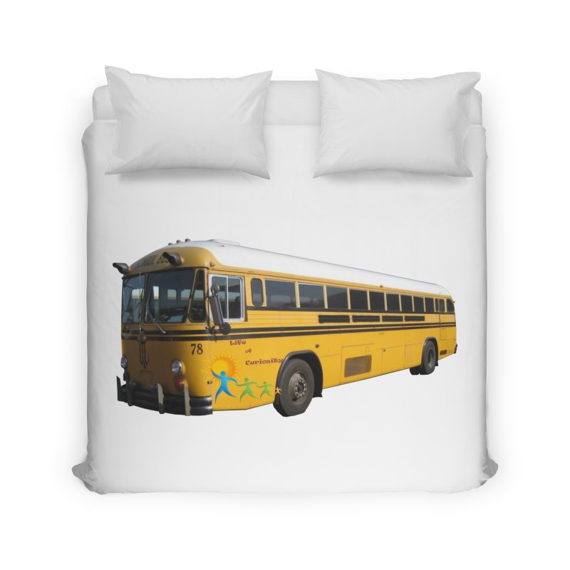 Leia Bus Home Duvet by The Life of Curiosity Store