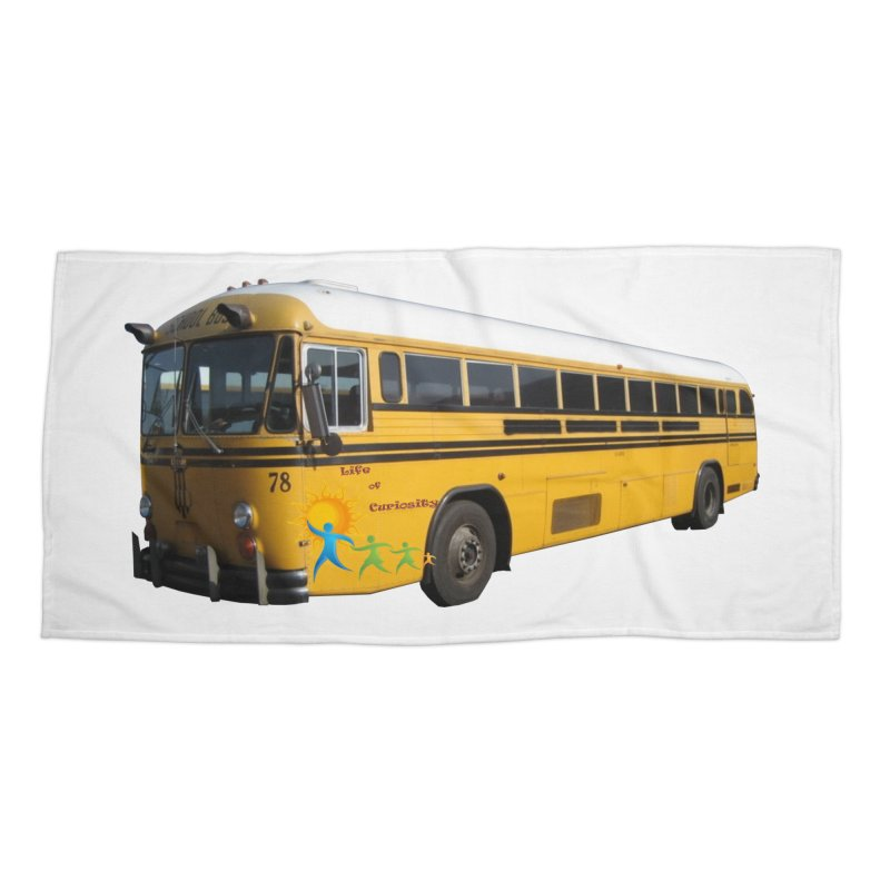 Leia Bus Accessories Beach Towel by The Life of Curiosity Store