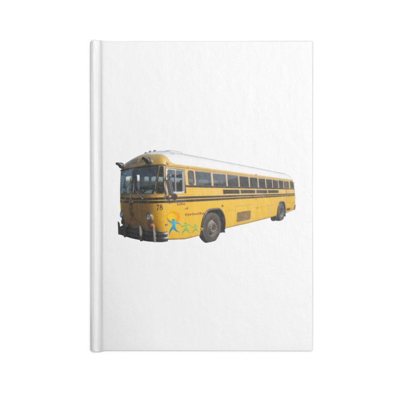 Leia Bus Accessories Blank Journal Notebook by The Life of Curiosity Store