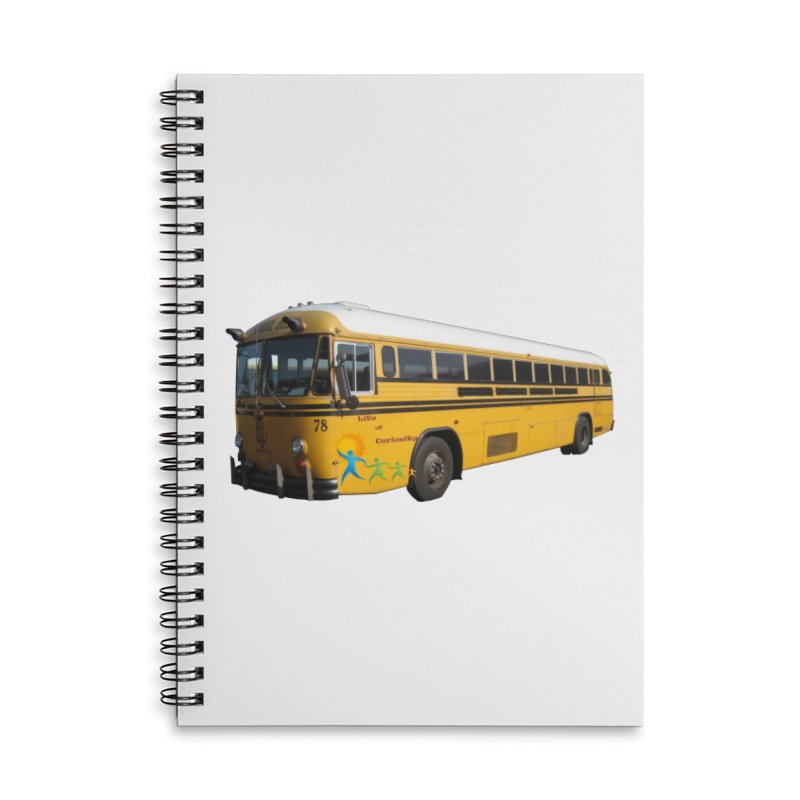 Leia Bus Accessories Lined Spiral Notebook by The Life of Curiosity Store