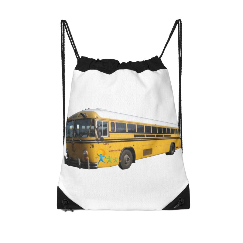 Leia Bus Accessories Drawstring Bag Bag by The Life of Curiosity Store