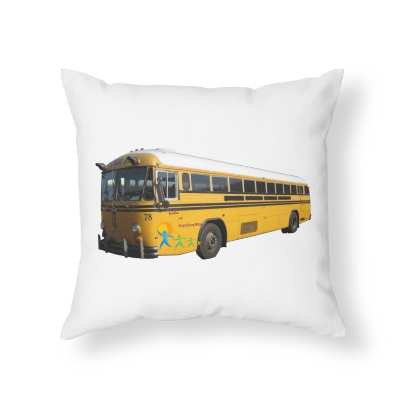 Leia Bus Home Throw Pillow by The Life of Curiosity Store