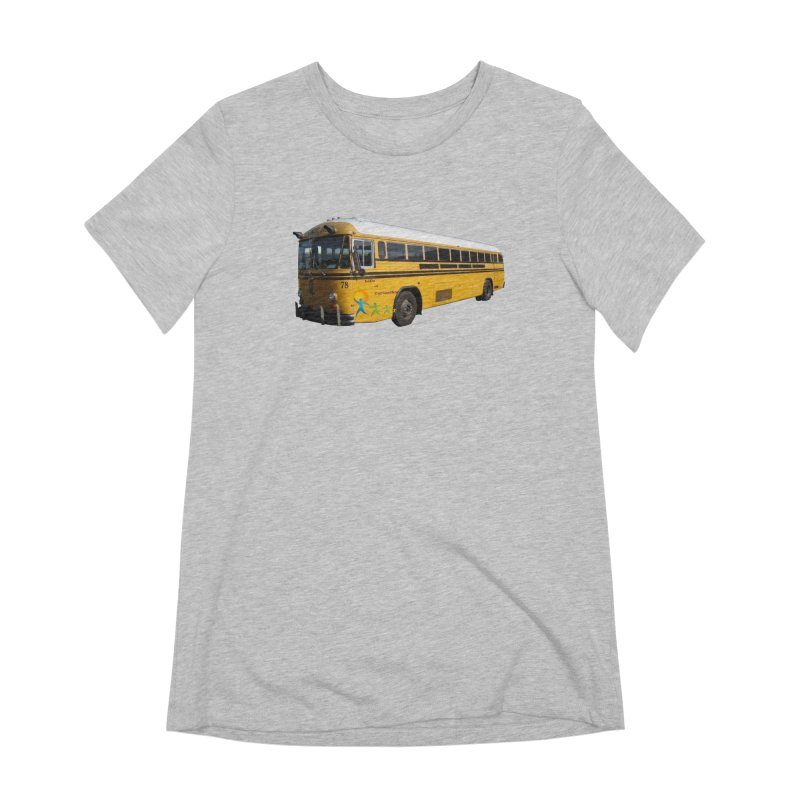 Leia Bus Women's Extra Soft T-Shirt by The Life of Curiosity Store
