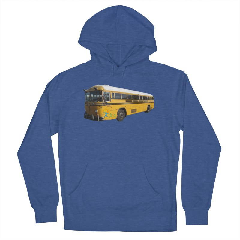 Leia Bus Women's French Terry Pullover Hoody by The Life of Curiosity Store
