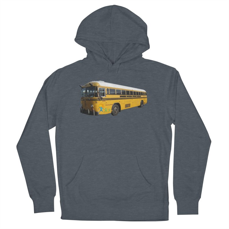 Leia Bus Men's French Terry Pullover Hoody by The Life of Curiosity Store