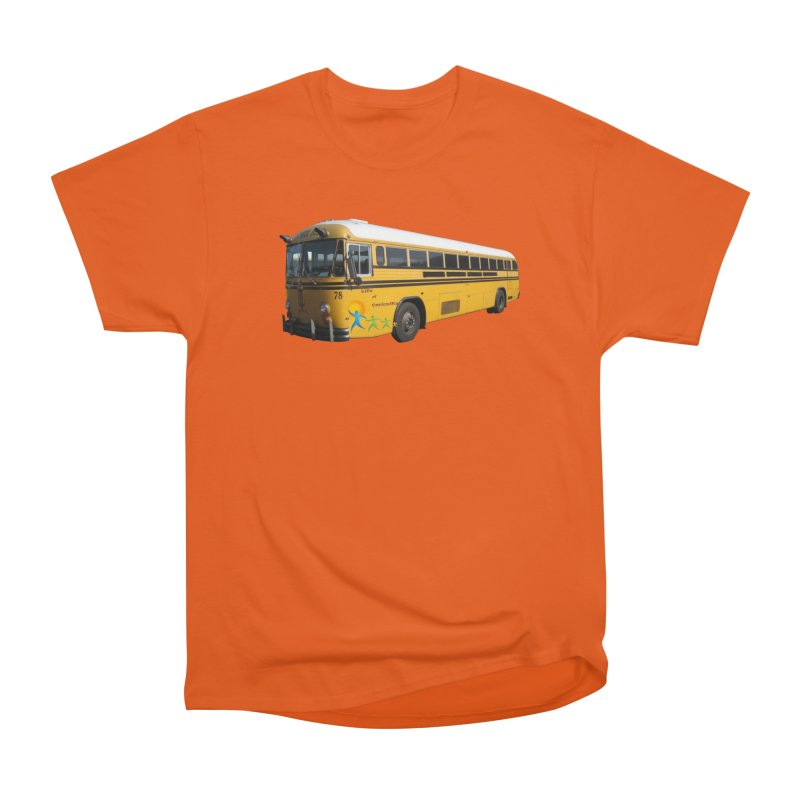 Leia Bus Men's Heavyweight T-Shirt by The Life of Curiosity Store