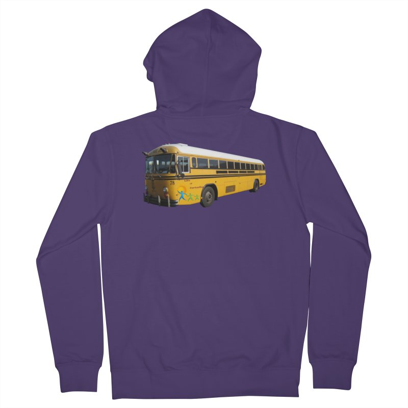 Leia Bus Women's French Terry Zip-Up Hoody by The Life of Curiosity Store